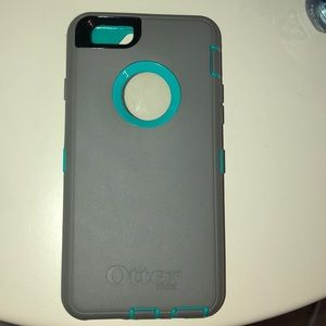 Teal and Grey Otterbox for IPhone 6/6s